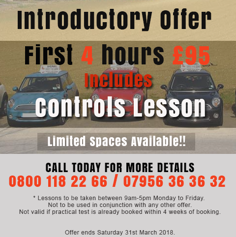 Drving School Introductory Offer