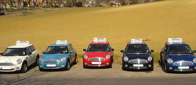 Automatic driving lessons Purley